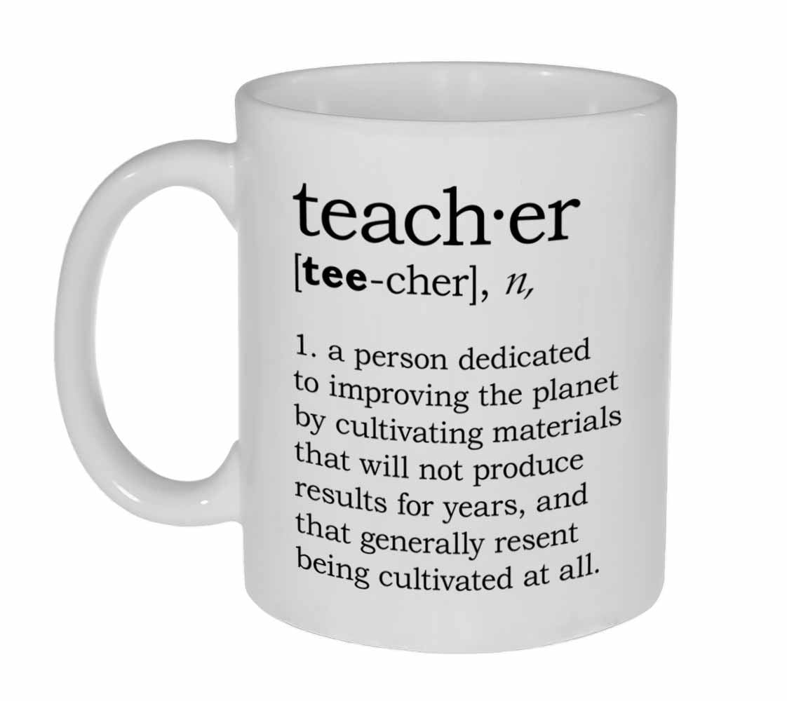 teacher definition coffee or tea mug neurons not included