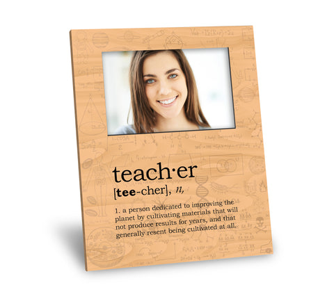 Teacher Definition Picture Frame