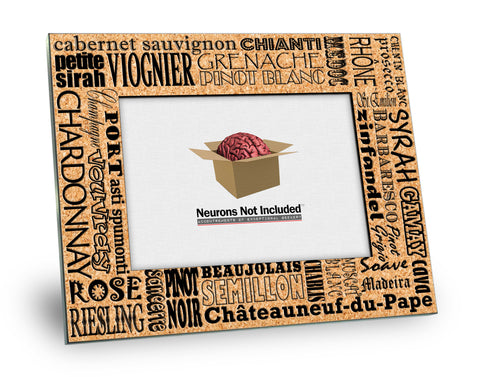 Wine Varieties Picture Frame