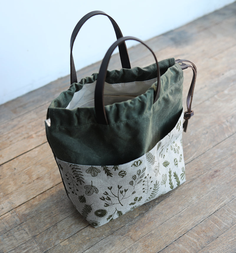 PROJECT BAG with handles - forage