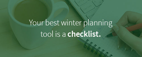 your best tool for winterizing your garden is a good checklist