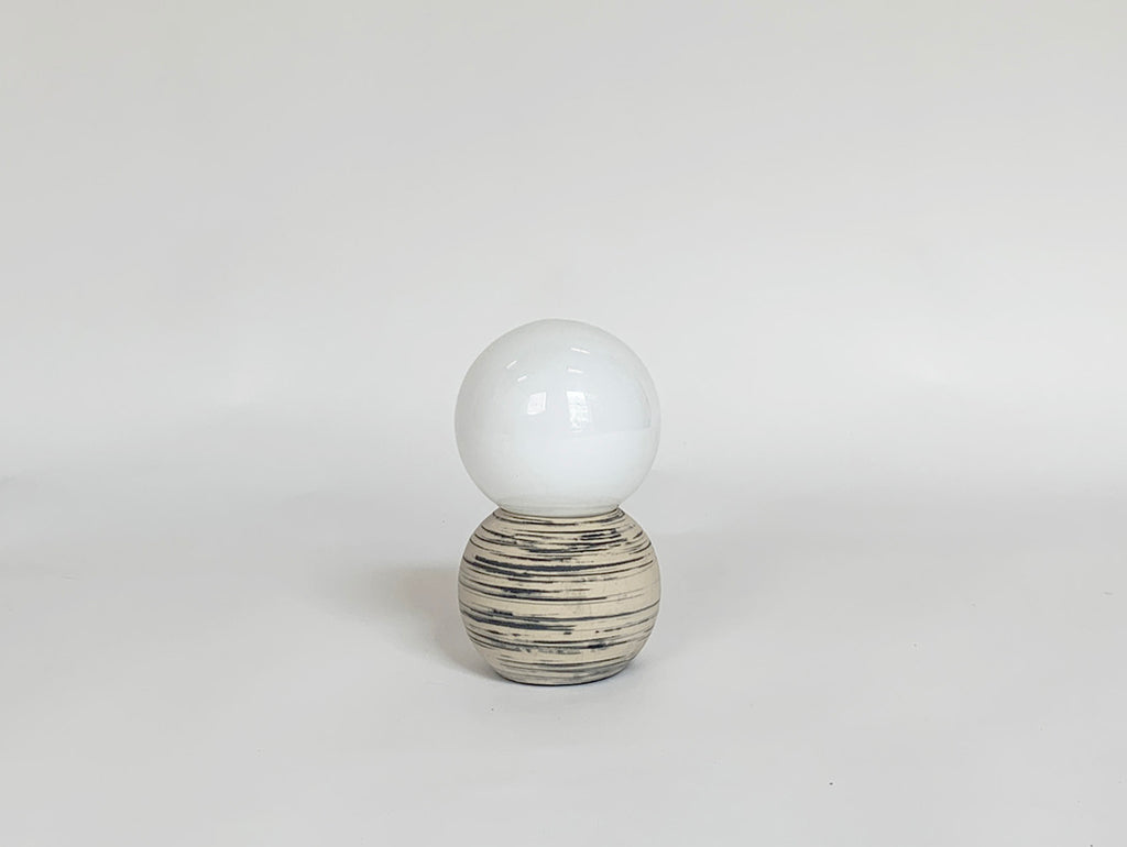 Marbled Double Bubble Lamp