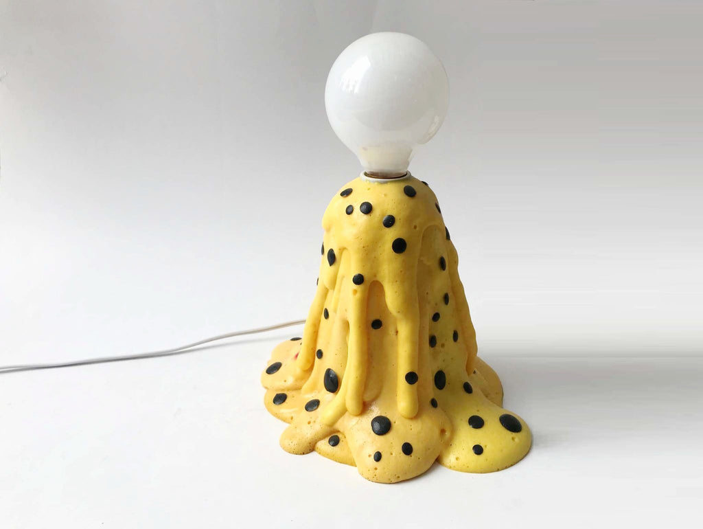 Yellow Foam Lamp