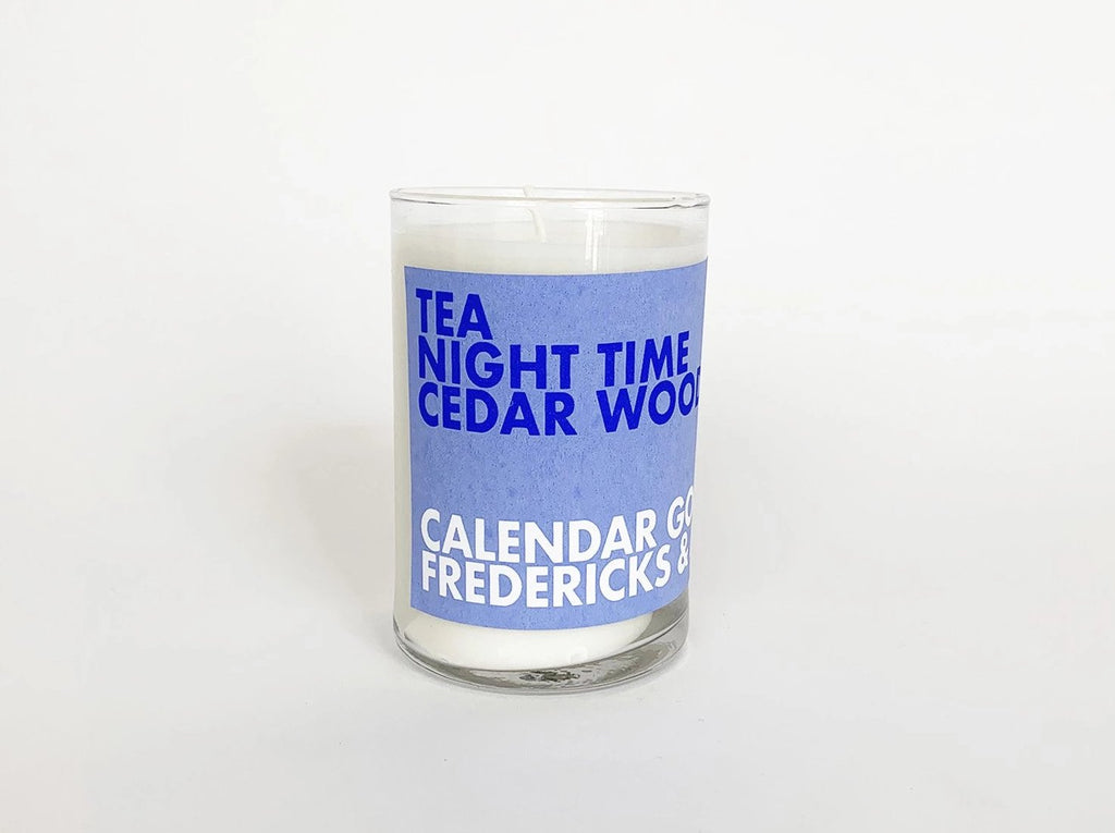 Scented Candle: Tea, Night Time, Cedar Wood