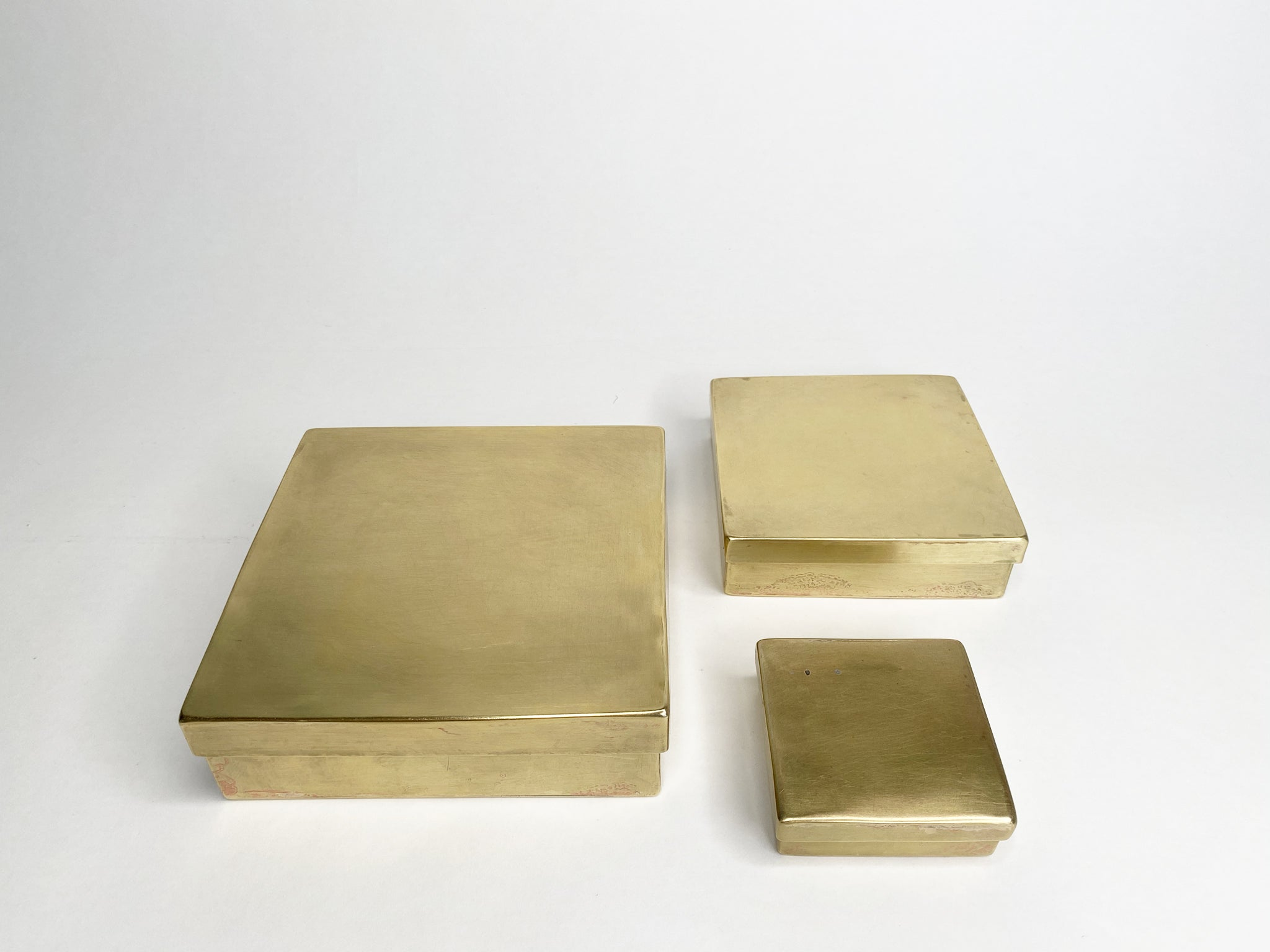 Large Brass Box