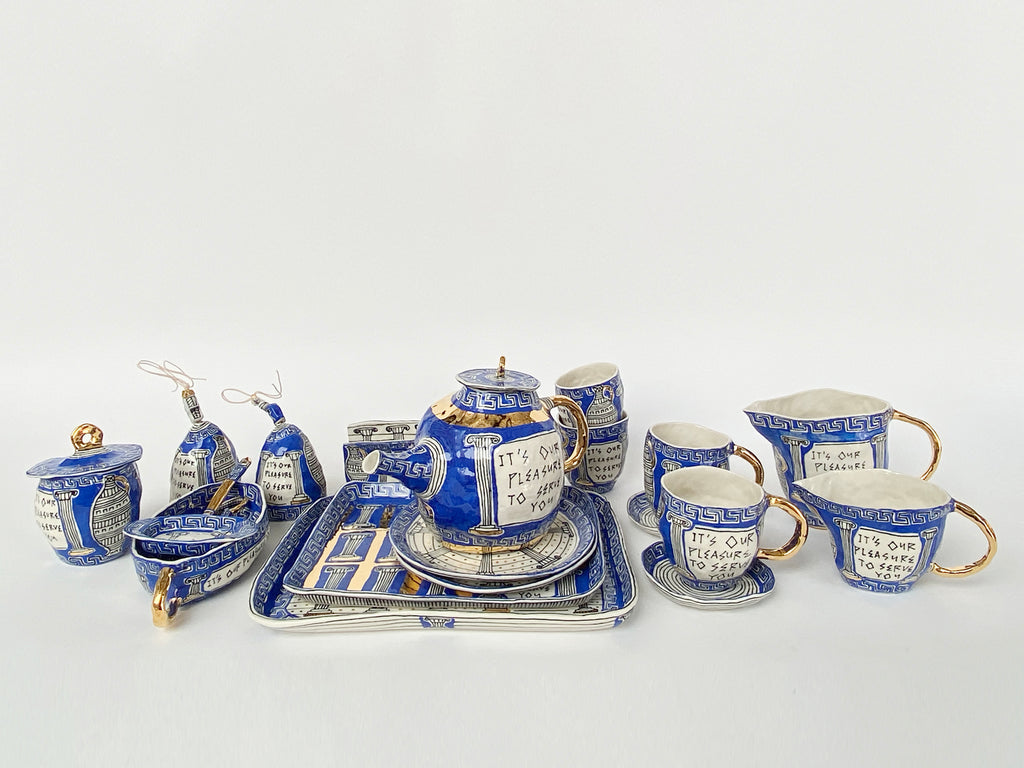 Greek Deli Tea Service