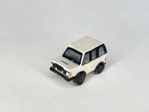1982 White Toyota Land Cruiser