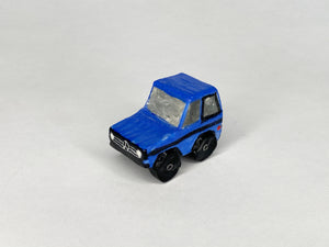 1988 Blue Mercedes G Wagon