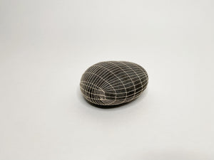 Gray Stone with Elongated Grid