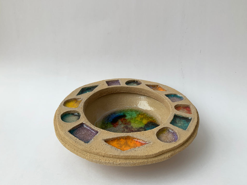 Small Multicolor Jewel Bowl