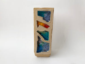 Narrow Mosaic Vase