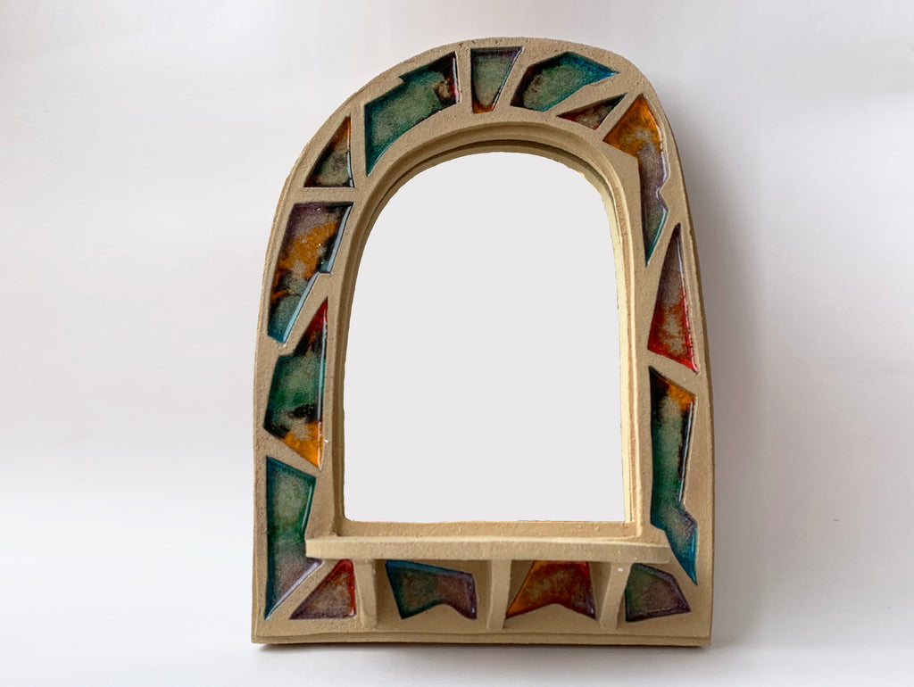 Mosaic Wall Mirror