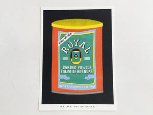 Royal Baking Powder Risograph