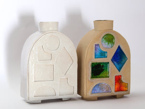 Doorway Stained Glass Vase
