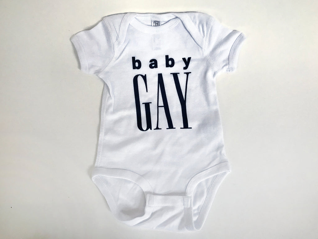 Body Confidence - BABY GAY Onesie