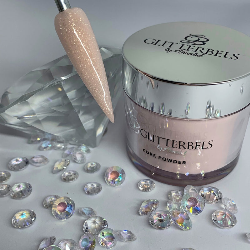 Glitterbels Peacherbel Soft Shimmer 56g - The Nail Throne