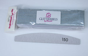 Glitterbels Removable Files for Metal File Board 150 Grit