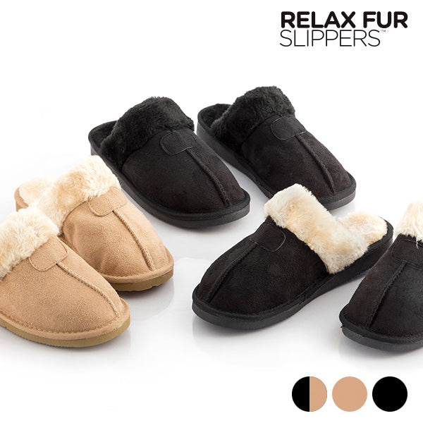 Relax Fur Slippers