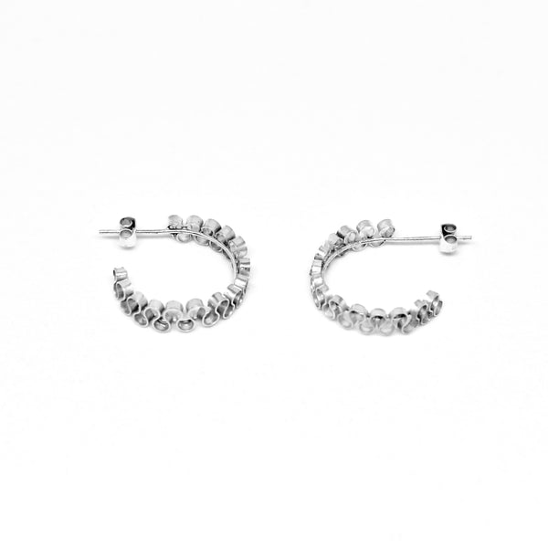 Midi Ruffled Studs Earrings