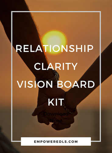 Platinum Relationship Clarity Vision Board Kit