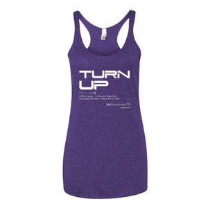 """TURN UP"" Women's Tank Top"