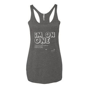 """I'm On One"" Women's Tank Tops"
