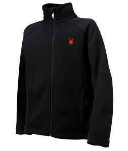 Spyder Constant Full Zip Mid Weight Core Sweater 2015 - Boys'