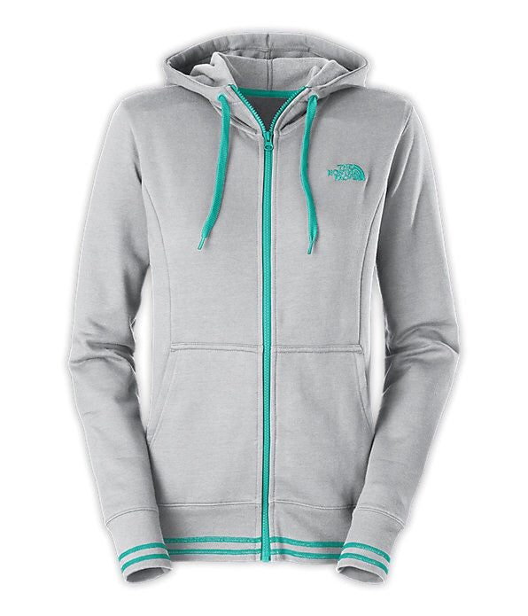 The North Face Logo Stretch Full Zip Hoodie 2015-Womens