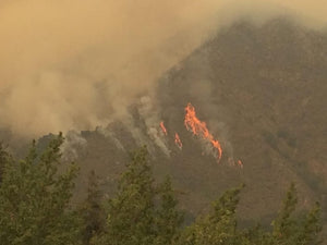 Fire on the California Coast: Big Sur Up in Flames