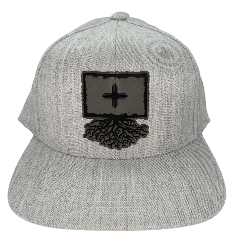 Roots Faux Leather Patch Flexfit Snapback