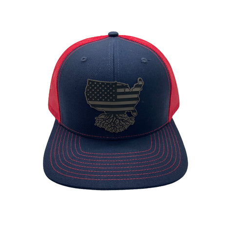 USA Rugby Patch SnapBack Trucker