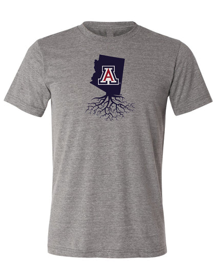 University of Arizona Roots Crewneck Tee