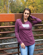 Unisex Long Sleeve Tri-Blend Crew Tee