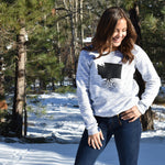 Women's Off The Shoulder Sweatshirt