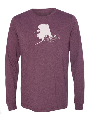 Alaska Long Sleeve Crewneck Tee