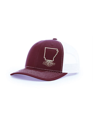 Arkansas Snapback Trucker Hat