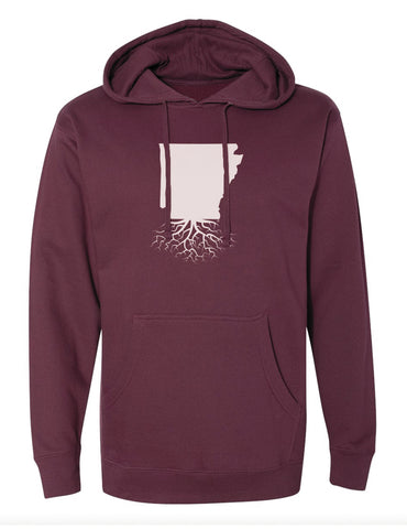 Arkansas Mid-Weight Pullover Hoodie
