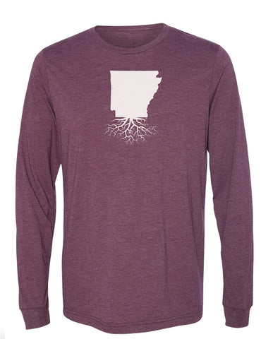 Arkansas Long Sleeve Crewneck Tee
