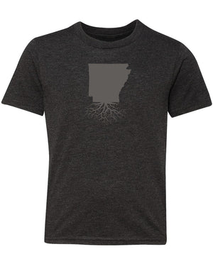 Arkansas Youth TriBlend Tee