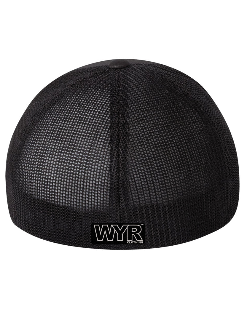 Wyoming Flexfit Mesh Trucker