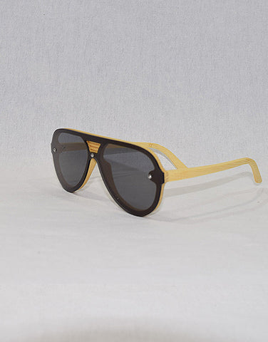Grey Wolf : WYR Polarized Bamboo Sunglasses