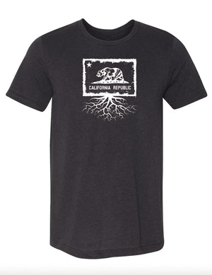 California Flag Men's Tri-Blend Crew