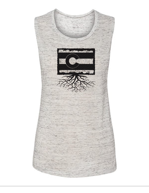 Colorado Women's Flowy Muscle Tank