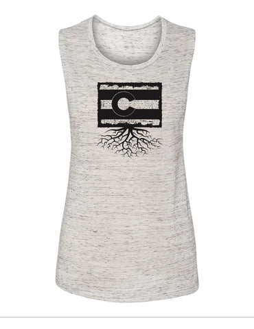 Colorado Women's Muscle Tank