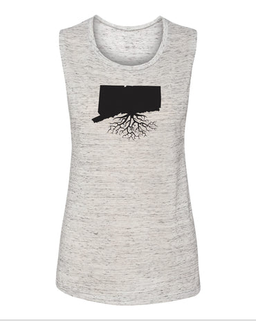 Connecticut Women's Muscle Tank