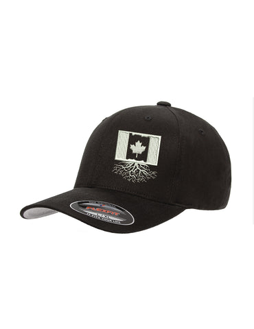 Canada Roots Structured Flexfit Hat