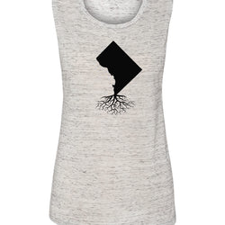 Washington DC Women's Muscle Tank