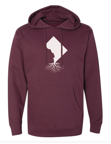 Washington DC Roots Mid-Weight Hoodie