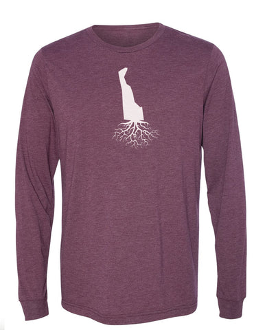 Delaware Long Sleeve Crewneck Tee
