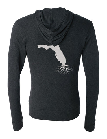 Florida Light-Weight Zip Hoodie